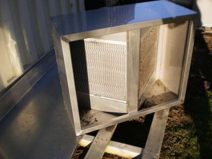 Extraction Hood 915 x 755mm with Honey Comb Filters POA