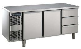 Electrolux 2 Doors + 3 x 1/3 Drawer Refrigerated Counter