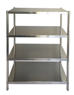 Stainless 4 Tier Shelf Unit