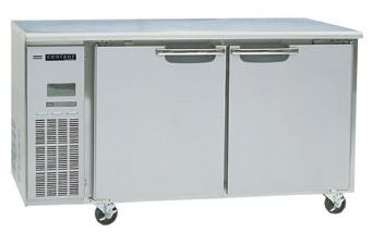 Skope Centaur BC120-C 2 Door Under Counter Freezer 275 Litre Capacity