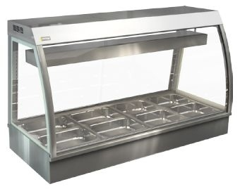 Cossiga CC5BM15 Bain Marie Counter Top Food Display Cabinet