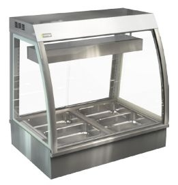 Cossiga CC5BM9 Bain Marie Counter Top Food Display Cabinet