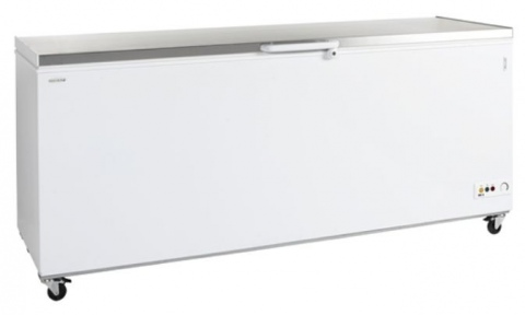 Chest Freezer 675 Litre with Stainless Lid