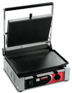 Sirman Contact Grill Single Ribbed Top and Smooth Base On Sale This Month See Our Specials Page