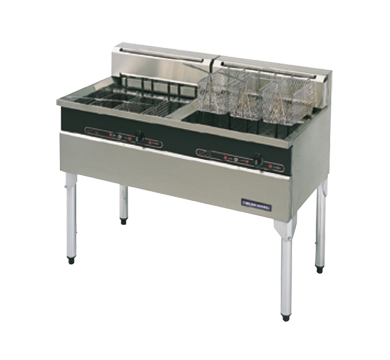Blue Seal E604 Twin Pan 6 Basket Electric Fryer Only $5860 + gst for the Month of August