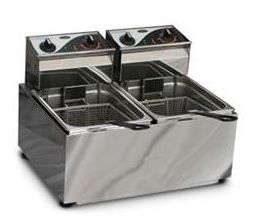Roband F28 Electric Twin Tank 2 Basket Fryer 15amp