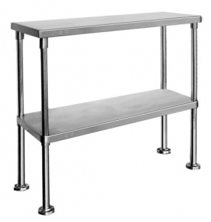Double Tier Workbench Overshelf 750mm High