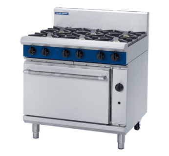 Blue Seal G506D 6 Burner Gas Range on Static Gas Oven