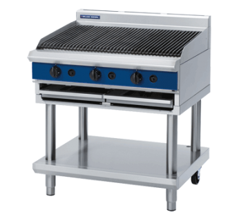 Blue Seal G596-LS Gas Chargrill - Leg stand