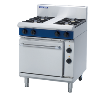 Blue Seal GE505D 4 Burner Gas Range on Static Electric Oven