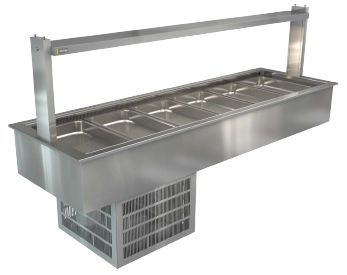 Cossiga Linear LSRF6 Refrigerated Well