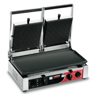 Sirman Contact Grill Double Ribbed Top & Smooth Base On Sale This Month See Our Specials Page