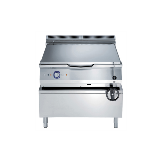 Electrolux 900XP 80 Litre Gas Braising pan with Manual Tilt & Mild Steel Cooking Surface