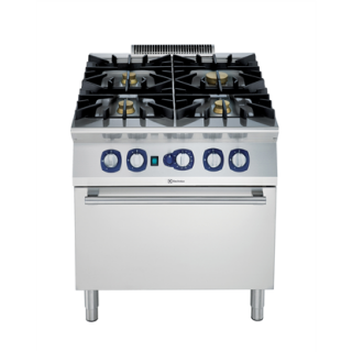 Electrolux 900XP 4Burner Gas Range on Gas Convection Oven