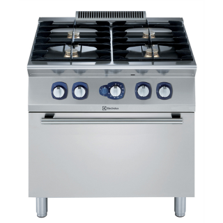 Electrolux 700XP 4 Burner Gas Range on Static Gas Oven