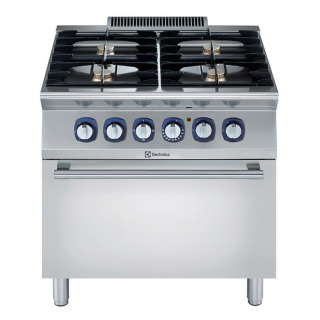Electrolux 700XP 4 Burner Gas Range on Static Electric Oven
