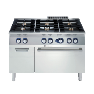 Electrolux 700XP 6 Burner Gas Range on Static Gas Oven