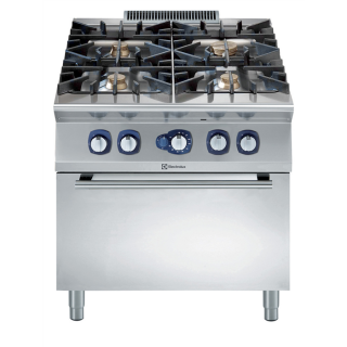 Electrolux 900XP 4 Burner Gas Range on Static Gas Oven