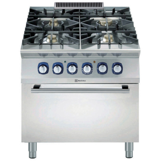 Electrolux 900XP 4 Burner Gas Range on Static Electric Oven