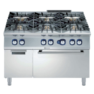 Electrolux 900XP 6 Burner Gas Range on Static Gas Oven