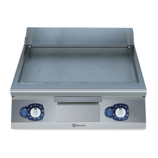 Electrolux 900XP Gas Frytop Smooth Horizontal Plate 800mm