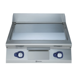 Electrolux 900XP Gas Frytop Smooth Sloped Chromium Plated 800mm