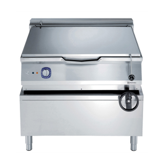 Electrolux 900XP 80 Litre Electric Braising pan with Manual Tilt & Mild Steel Cooking Surface