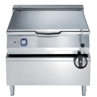 Electrolux 900XP 80 Litre Electric Braising Pan with Manual Tilt & Duomat Cooking Surface