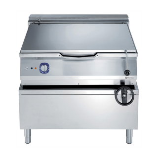 Electrolux 900XP 100 Litre Electric Braising Pan with Manual Tilt & Mild Steel Cooking Surface