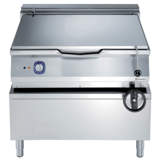 Electrolux 900XP 100 Litre Electric Braising Pan with Manual Tilt & Duomat Cooking Surface