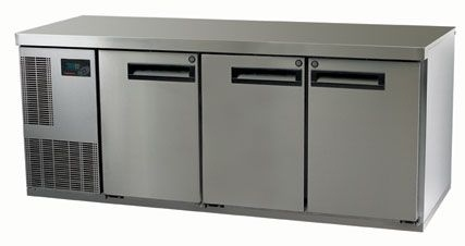 Skope Pegasus PG400HF-2 3 Door Under Counter Freezer 399 Litre Capacity