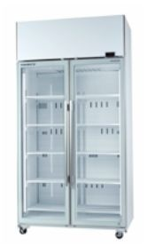 Skope TME1000-A Double Glass Door Chiller 980 L Capacity