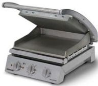 Roband 6 Slice Smooth Top & Bottom Plates Grill Station
