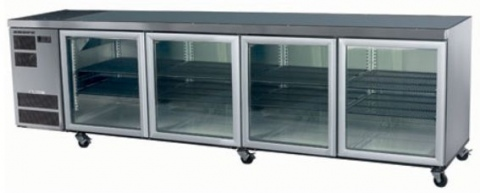 Skope CC700 Horizontal 4 Glass Door Skope Chiller