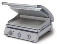 Roband 8 Slice Smooth Plates Grill Station