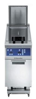 Electrolux 900XP Single Tank 2 basket Gas Fryer 23L with Electronic Control & Oil Filtering